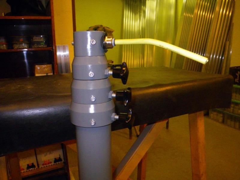 Пневматической мачты со спиральным силовым кабелем